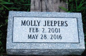 Jeepers memorial